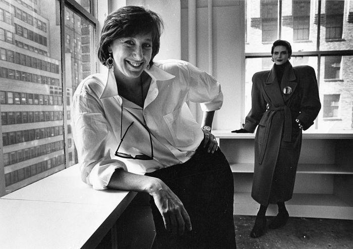 Donna Karan - inspiring woman in fashion.