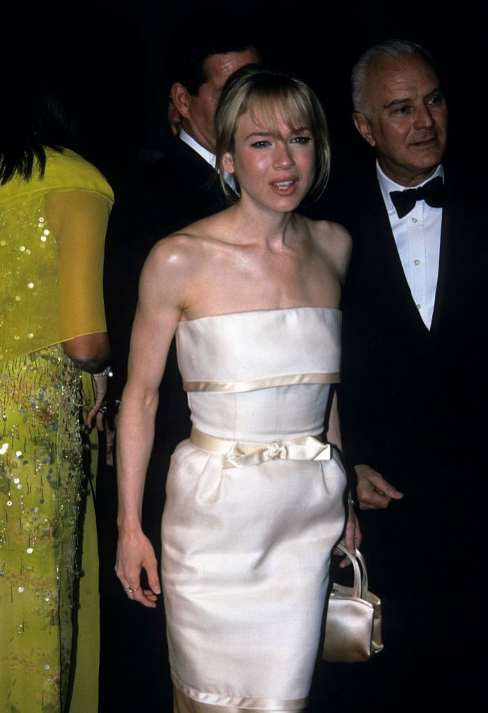 Renee Zellweger attending the met Gala.