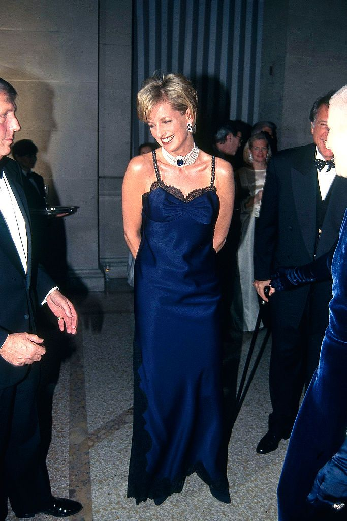 Princess Diana attends the Met Gala.