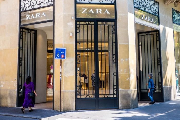 Zara will close up to 1200 stores in the next couple of years.