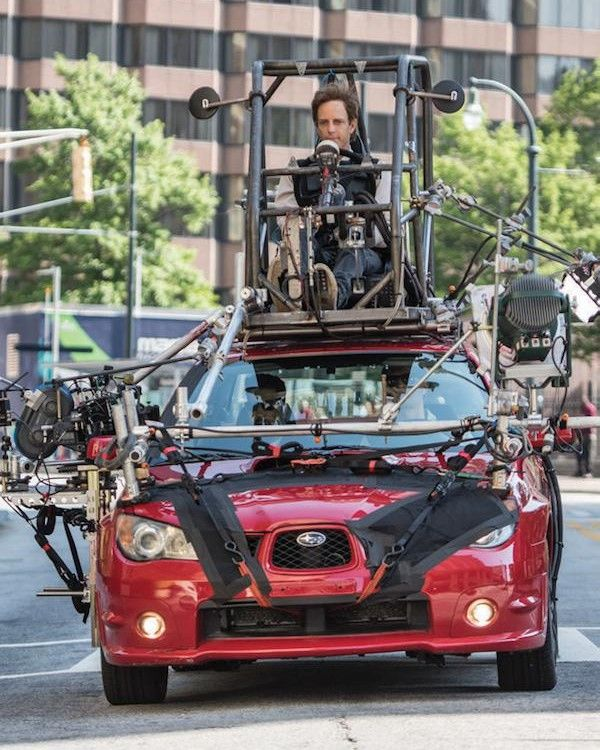 baby driver stunt on top