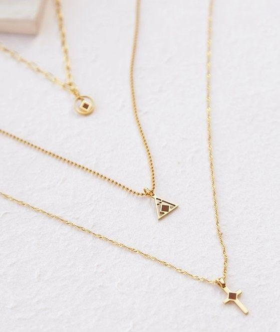 Divine Supervision necklaces